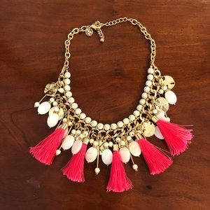 Lilly Pulitzer Gold Tassel Necklace